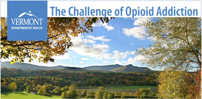 The Challenge of Opioid Addiction document cover.