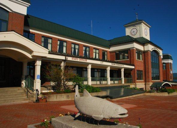 Newport, VT local health office building