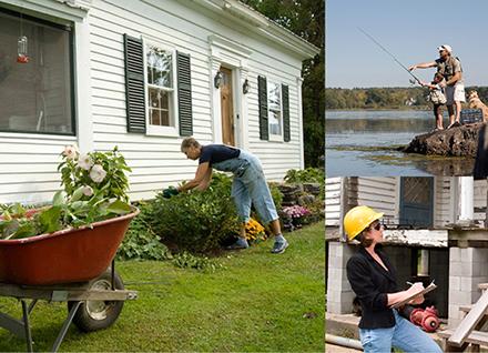 collage of environmental health photos