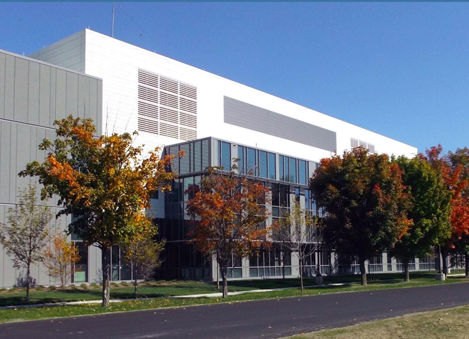 Vermont Health Department Laboratory building