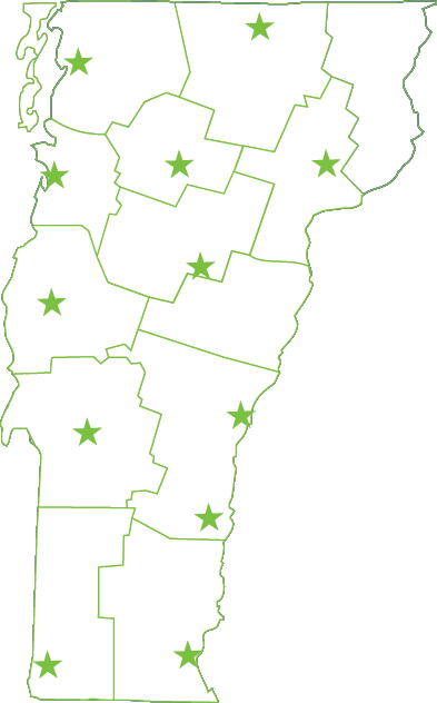 Health Dept. offices map