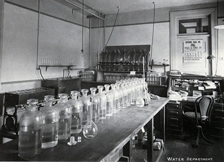 First Public Health Lab Building - Water Department