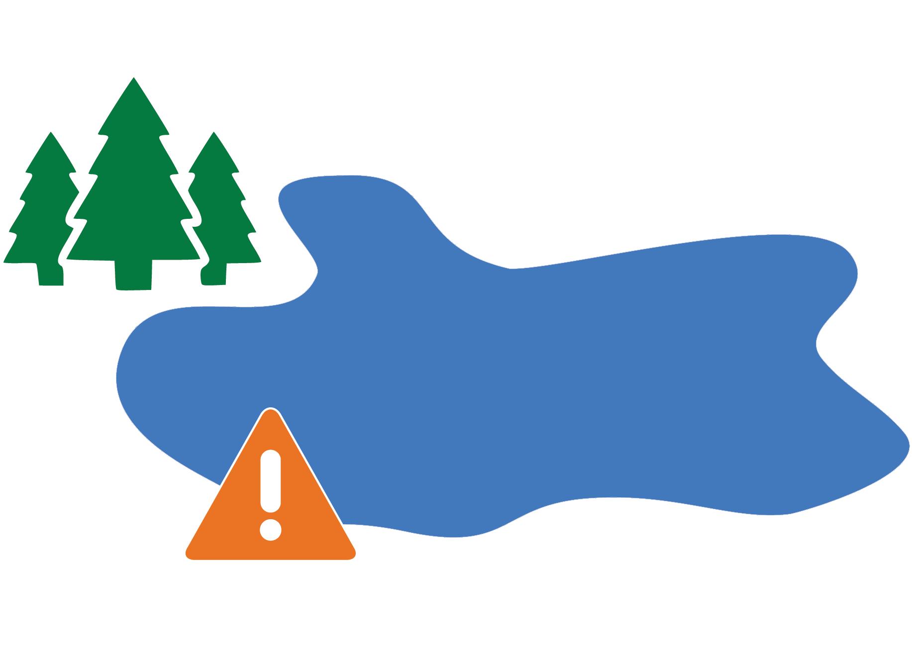 Climate Change and Cyanobacteria (Blue-Green Algae ...  Lake Icon