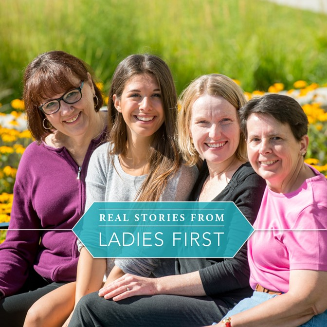 Real Stories of Ladies First- 1