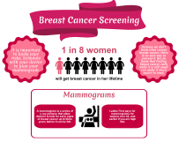 Brest Cancer Screening Infographic