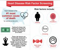 Heart Disease Risk Factor Infographic