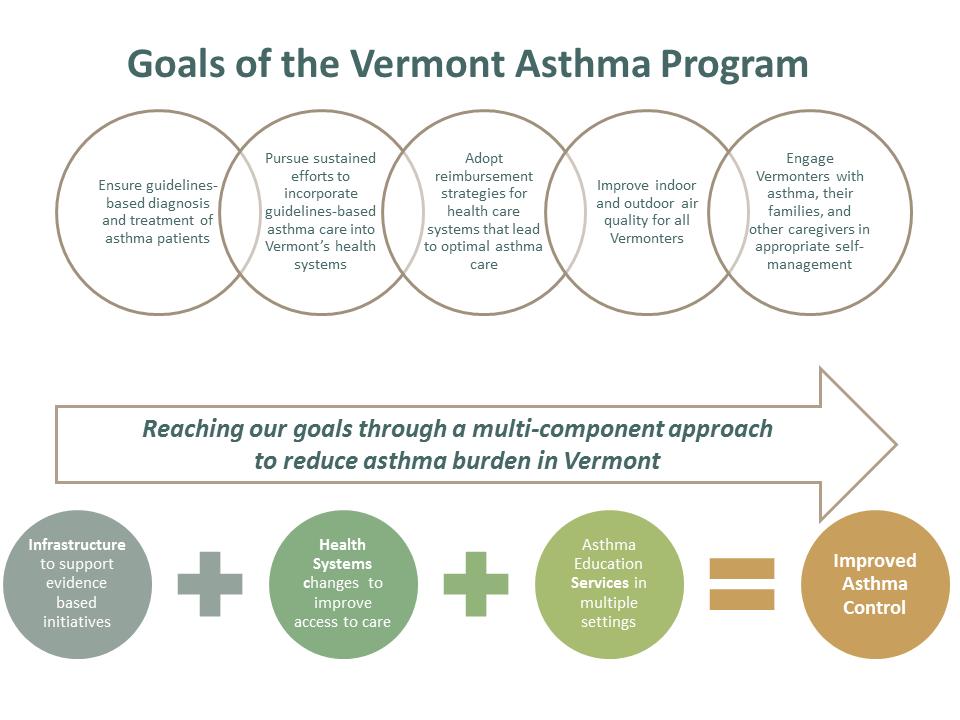 Vermont Asthma Program Goals