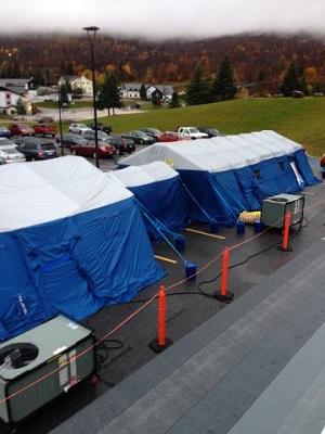 portable hospital tents