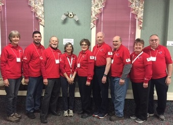 group ofMRC volunteers