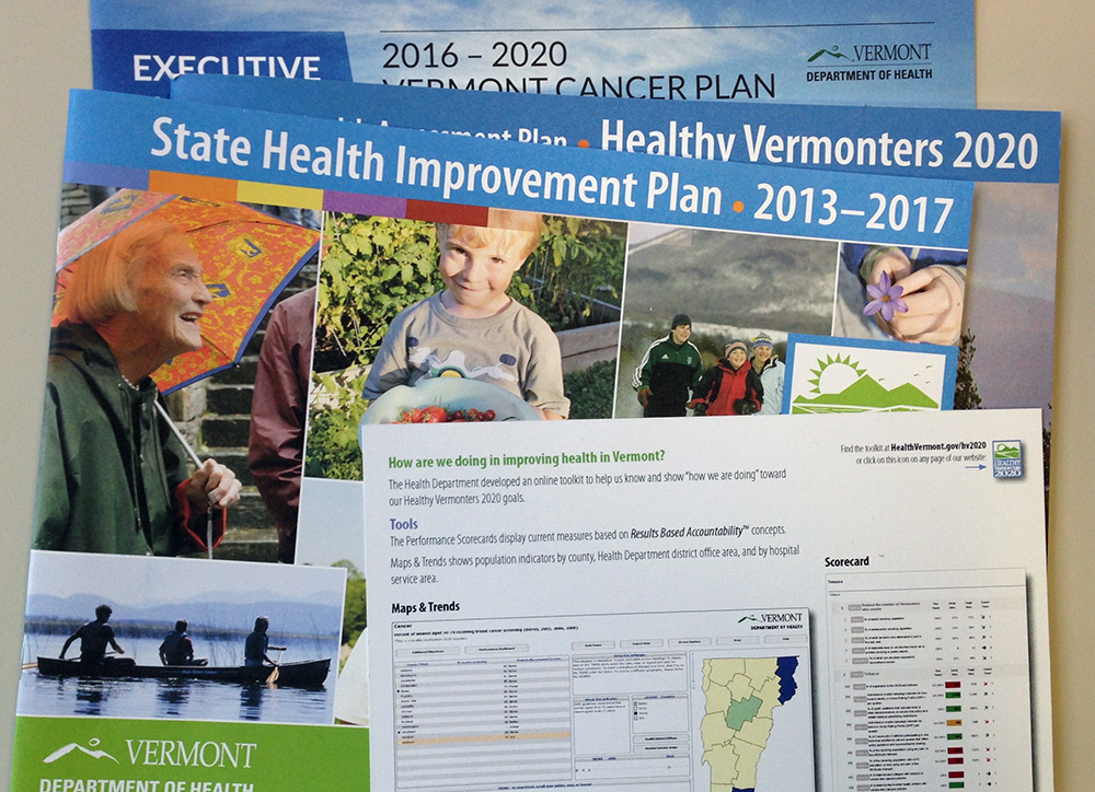 Vermont Health Department report covers