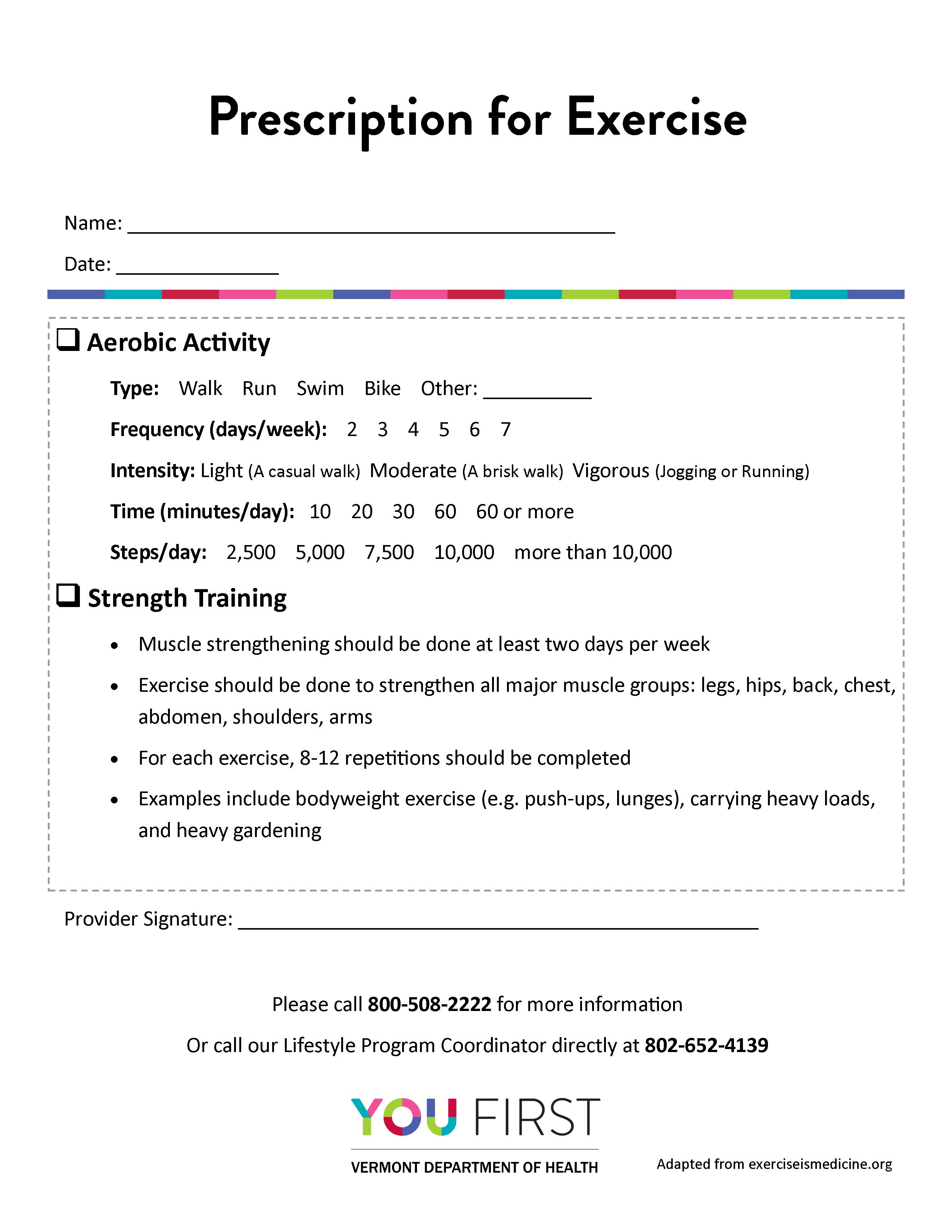 Exercise Script