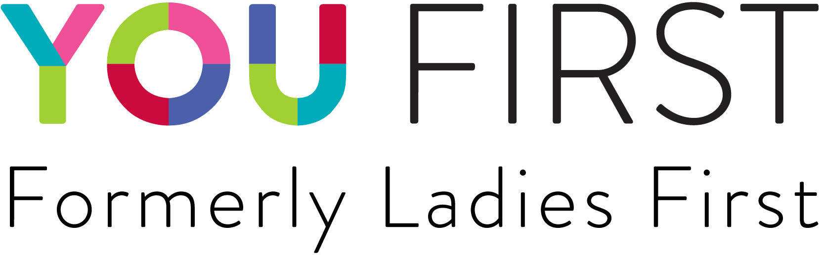 You FIrst logo, formerly Ladies First
