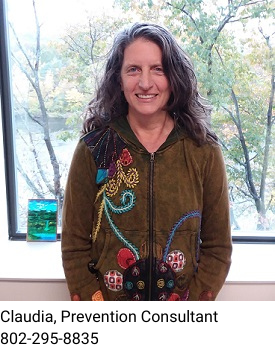 Claudia, Prevention Consultant