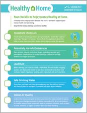healthy at home checklist