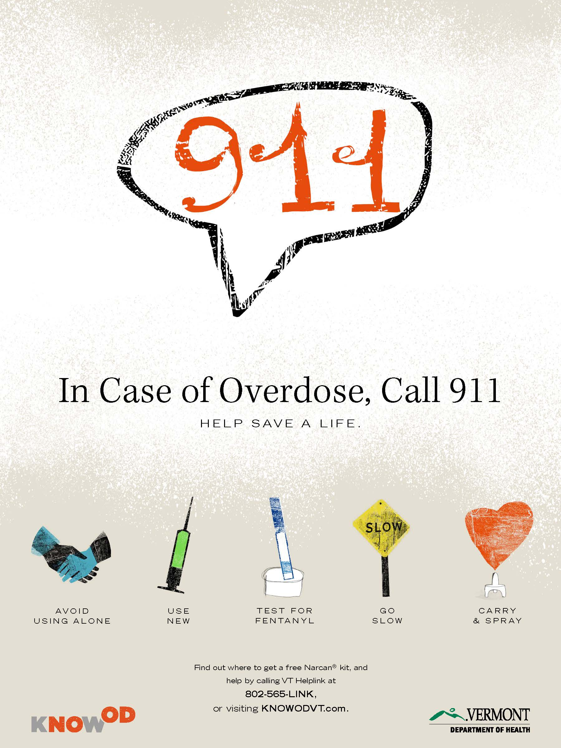 In Case of OD Call 911