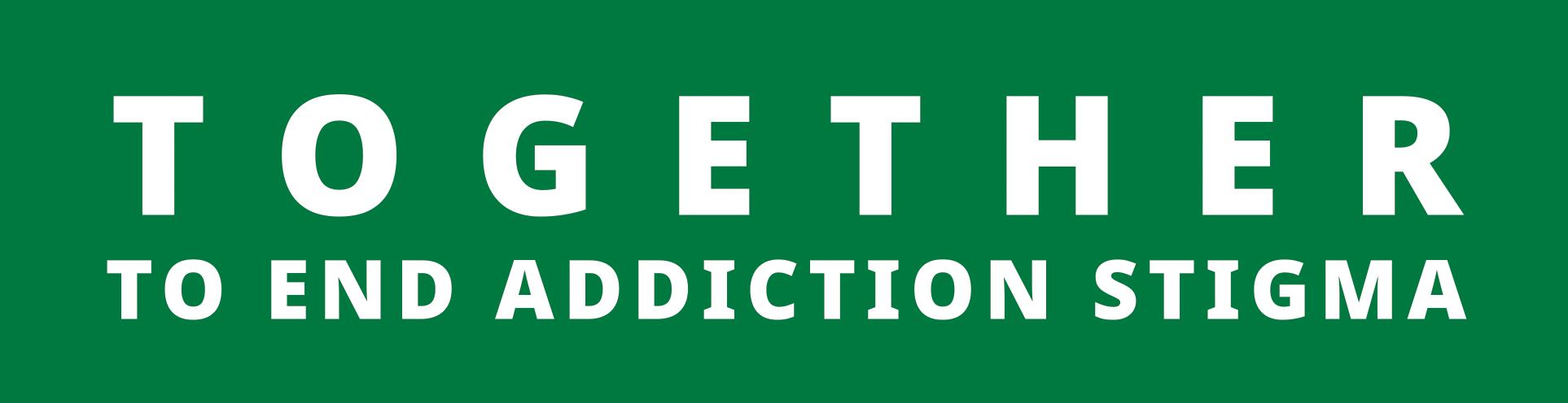 End Addiction Stigma Logo