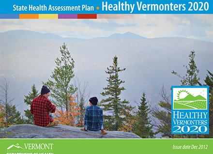 Healthy Vermonters 2020 cover - State Health Assessment Plan