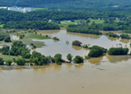 Tropical Storm Irene flooding