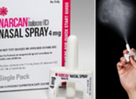 Narcan opioid overdose rescue kit
