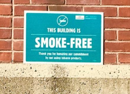 This building is smoke-free