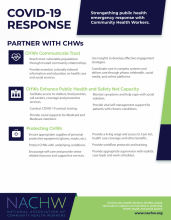COVID-19 Resource: Partner with Community Healthy Workers Information Sheet