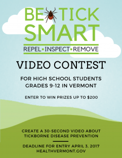 Be Tick Smart Video Contest