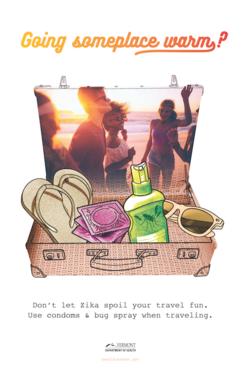 Zika Travel Poster