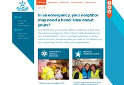 screenshot OnCall webpage