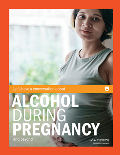 Alcohol during pregnancy patient fact sheet cover