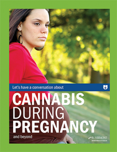 Cannabis during pregnancy patient fact sheet cover